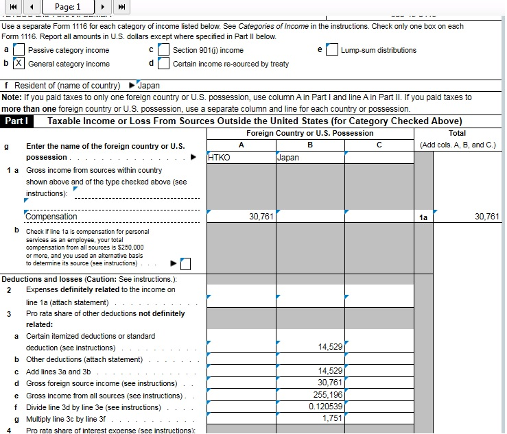 How Can I Add Form 1116 General Chat Atx Community