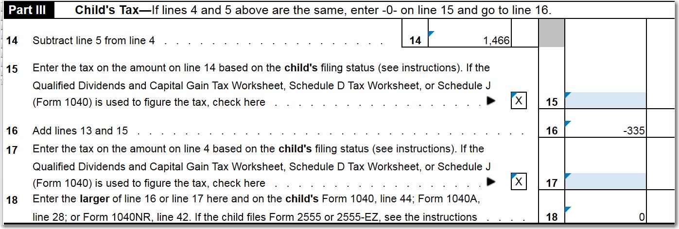 Form 8615 - Kiddie Tax - General Chat - ATX Community